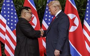 Встреча Дональда Трампа и Ким Чен Ына: бескровная победа Давида