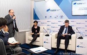 Фотогалерея: Российско-индийская конференция клуба «Валдай». Сессия 2. Санкции и торговые войны: каким должен быть ответ?