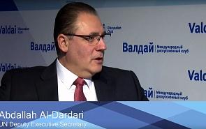 Абдалла Аль-Дардари: Устранить причины арабской весны и идти вперёд