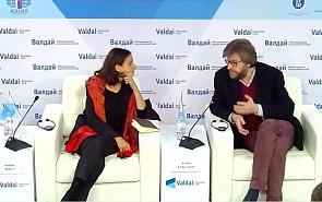 Экспертная дискуссия в клубе «Валдай» с Натали Точчи