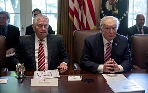 Санкции как концентрированное выражение политики «кнута и пряника» администрации Трампа