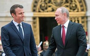 Чего ждать от первой встречи Путина с Макроном?