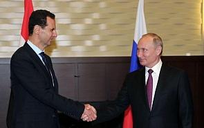 Сочинская сверка часов глав России и Сирии