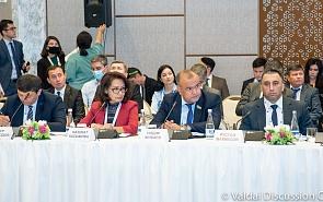 Фотогалерея: Открытие и первая сессия конференции Международного дискуссионного клуба «Валдай» и Института стратегических и межрегиональных исследований при Президенте Республики Узбекистан