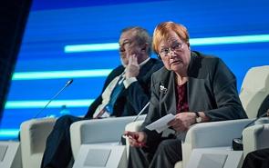 Тарья Халонен: Нам необходимо работать вместе для того, чтобы надежда на лучшее воплотилась в жизнь