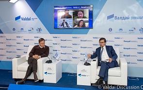 Фотогалерея: Конкуренция технологических платформ: проблема или возможность? Вторая сессия XI Азиатской конференции Клуба «Валдай»