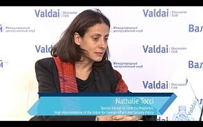 Натали Точчи: Безопасность становится важной проблемой для граждан ЕС