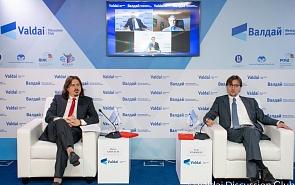 Фотогалерея: Дискуссия «Газопроводные проекты из России в ЕС: риски и перспективы»
