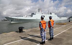 Что означает открытие китайской базы в Джибути