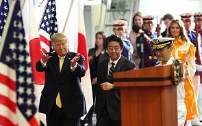 Визит Трампа в Японию: новые слайсы «гольф-дипломатии»