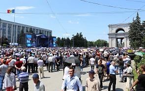 Молдавия: «майдана» не наблюдается, но...