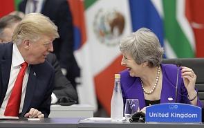 Являются ли Трамп и Мэй заложниками парламентов своих стран?