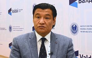 Кубатбек Рахимов о региональном сотрудничестве Киргизии