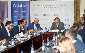Фотогалерея: Дискуссия клуба «Валдай» и Фонда Горчакова «Перемены в ЕС – изменится ли сумма слагаемых? Российский и европейский взгляды»