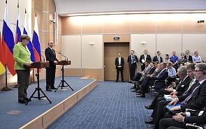 Ханс-Фридрих фон Плётц: Никакого прорыва на встрече Меркель и Путина