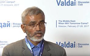 Полур Раман Кумарасвами: Россия может взять лидерство в поисках стабильного Ближнего Востока