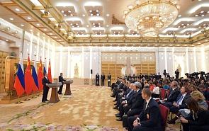 Россия – Китай: почему «горячо» в политике и «холодно» в экономике?