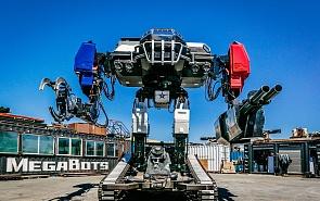 Гонка боевых роботов и войны будущего