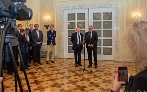 Фотогалерея: Выступление Андрея Быстрицкого в Посольстве РФ в Австрии в преддверии Европейской конференции клуба «Валдай»