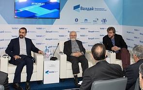 Брифинг для журналистов по итогам закрытой иранско-российской дискуссии