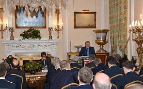 Презентация доклада «Глобальный бунт и глобальный порядок» в Лондоне