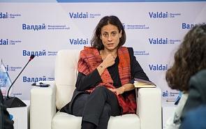 Экспертная дискуссия с участием специального советника Верховного представителя ЕС по иностранным делам и политике безопасности Натали Точчи
