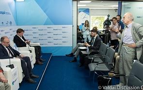 Фотогалерея: Экспертная дискуссия по итогам встречи Дональда Трампа и Ким Чен Ына в Сингапуре