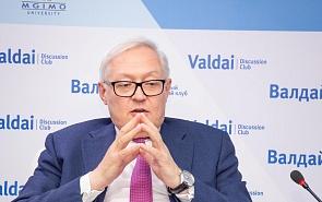 Рябков надеется на улучшение отношений с США после встречи лидеров на G20