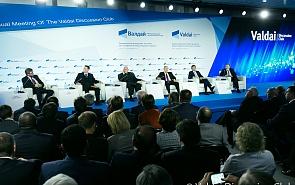 Заглянуть за горизонт. Владимир Путин встретился с участниками заседания клуба «Валдай»