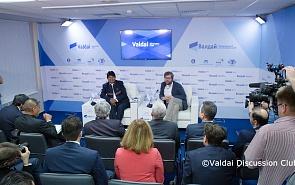 Фотогалерея: Дискуссия с участием президента Боливии Эво Моралеса