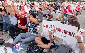 Союзники поневоле: как демократия усиливает противоречия между Токио и Сеулом