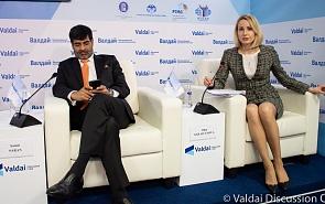 Фотогалерея: Российско-индийская конференция клуба «Валдай». Пресс-конференция по итогам