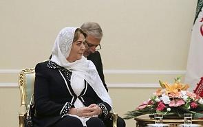 Встреча с Председателем Парламента Сирии Хадией Аббас