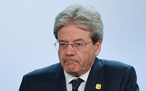 Паоло Джентилони в России: Италии не нравятся санкции, но она не в силах их отменить