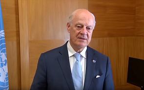Стаффан де Мистура: Виталий Наумкин необыкновенно эффективен как посредник в переговорах